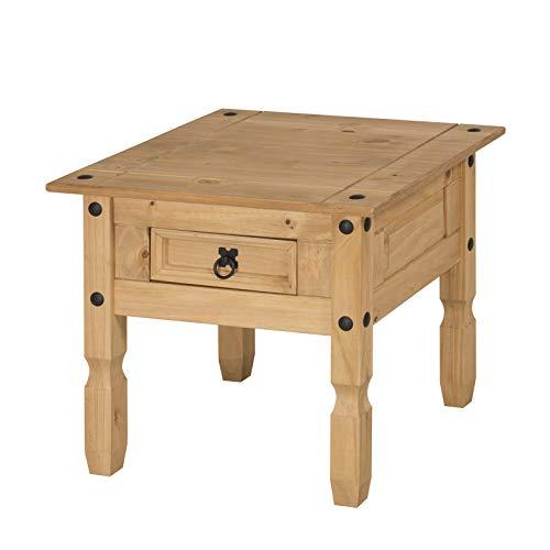 Mercers Furniture Corona nachtkastje met 1 lade, grenen