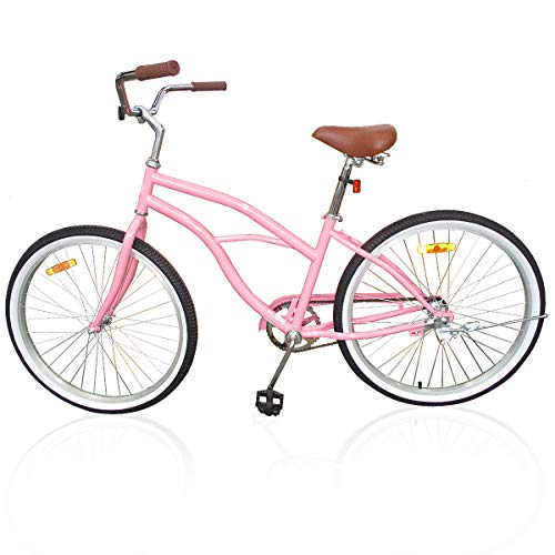Beach Cruiser Bicycle for women PINK