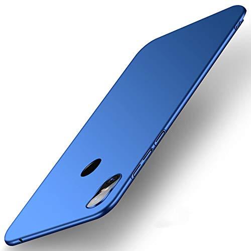 SPAK Xiaomi Mi Mix 3 Hülle,Neuer Qualitäts Schutzhülle Harter PC rückseitiger Abdeckungs Handyhülle Fall Cover für Xiaomi Mi Mix 3 (Blau)