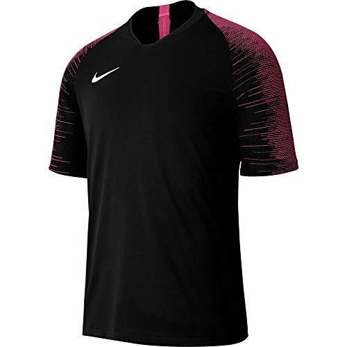 Nike Kinder Strike Jersey SS Trikot, Black/Vivid pink/White, M