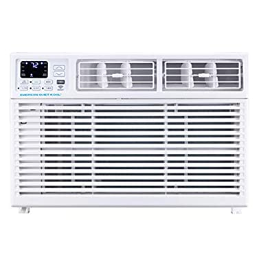 Emerson Quiet Kool Smart 15,000 BTU 115V Window Air Conditioner with Remote, Wi-Fi, and Voice Control, EARC15RSE1, White