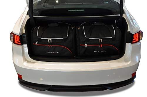 KJUST Kit de Bolsas 4 pcs Compatibles con Lexus IS Hybrid 2013 - para Tronco