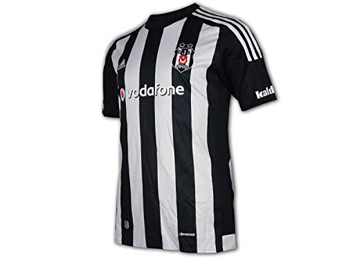 adidas Besiktas BJK Jersey Kinderfußballtrikot weiß schwarz AN5928 (15/16)