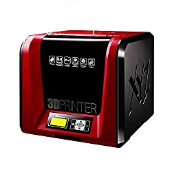 Stampante 3D completamente assemblata. Include 300 g di filamento PLA (del valore di £ 12) e strumenti di manutenzione (del valore di £ 15); Dimensioni di stampa: 15 x 15 x 15 cm Compatibilità del materiale: PLA / PETG / PLA robusto/ Legno; Connettiv...