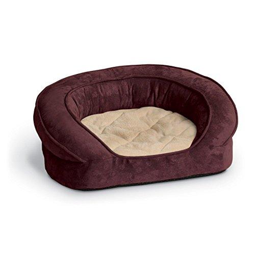 K&H Deluxe Ortho Bolster Sleeper Dog Bed