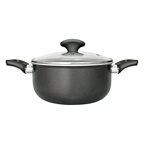6. San Ignacio Gourmet – Cazuela de aluminio con 22 cm de diámetro