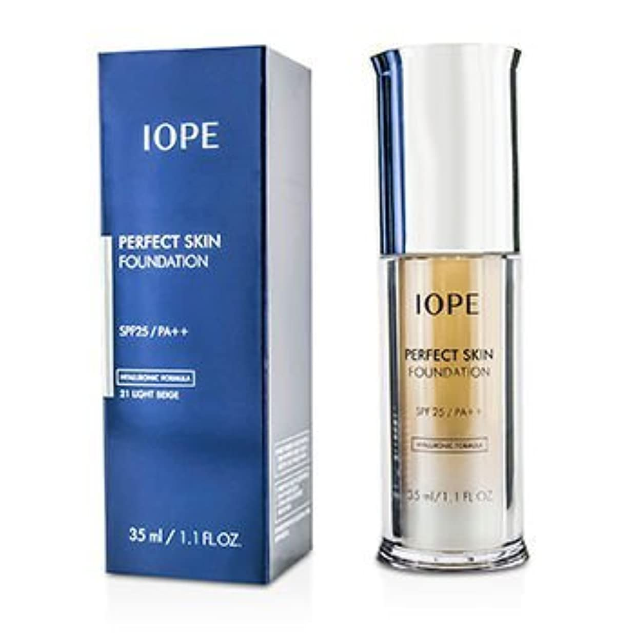 概して肌寒い調子[IOPE] Perfect Skin Foundation SPF25 - # 21 Light Beige 35ml/1.1oz