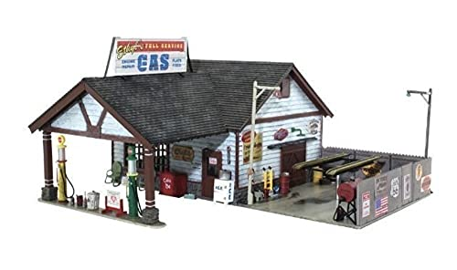 Woodland Scenics WOOBR5849 O Built-Up Ethyl's Gas & Service