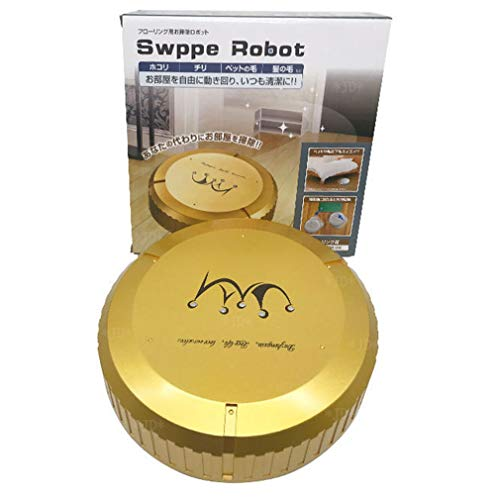 HETUI Home Auto Cleaner Trapeador robótico Inteligente Limpiador de Polvo de Piso Barredora Aspiradora Golden Gold