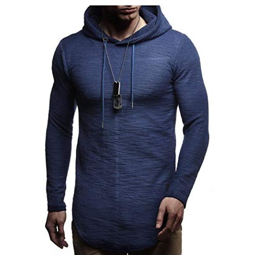 41Dq2F viKL. SS500  - Leif Nelson Mens Hoodie Sweater LN-6300