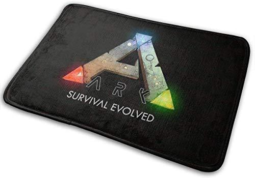 gshihuainingxianruanchaos ARK Survival Evolved Logo Entry Teppich Teppiche Runner Leichte Teppiche Teppiche für den Innenbereich 15,8 * 23,6 Zoll