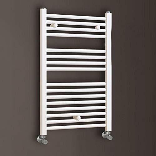 Kibath L474503 Toallero Secatoallas radiador para integrar en circuito de agua caliente, tubos de acero con acabado lacado en...