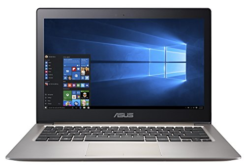 Asus Zenbook UX303UB-R4044T 33,7 cm (13,3 Zoll) Laptop (Intel Core i5 6200U, 8GB RAM, 128GB SSD, NVIDIA GeForce 940M,  FHD 1920 x 1080, Win 10) braun