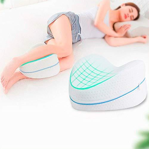 Almohada Ortopédica Cojín para Pierna y Rodilla | Alivia el Dolor de Espalda, Cadera y Articulaciones | Ideal para Dormir de Lado