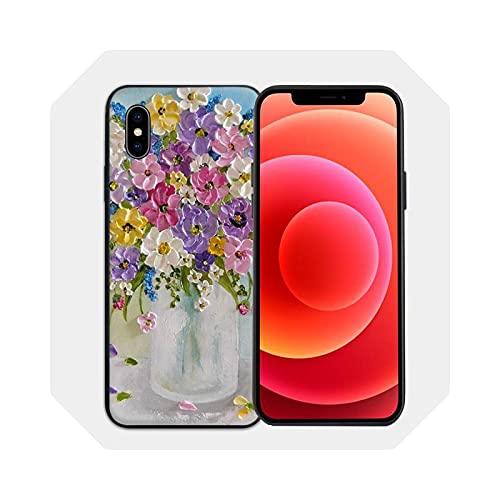 Funda para iPhone 6s 7 8 Plus XR XS 11 12pro Max Mini Cover - A1 para iPhone 8 Plus