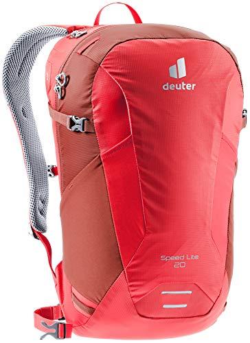 Deuter Unisex– Adult's Speed Lite 20 Hiking Backpack, Chili Lava, 20 L