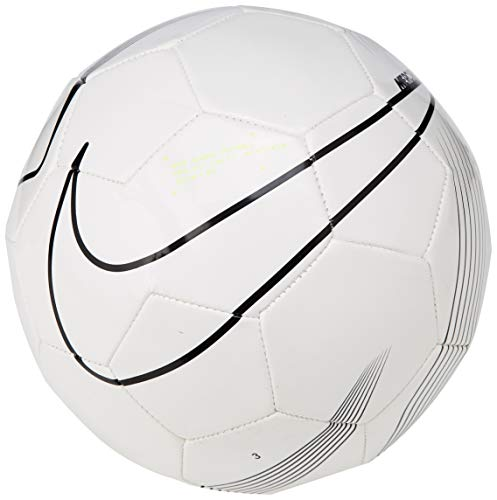 Nike Unisex– Erwachsene Mercurial Fade Fußball, White/Black/White, 5