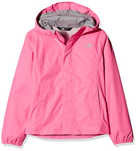 The North Face, G Resolve Ref Jkt, Giacca Riflettente, Bambina, Rosa, S