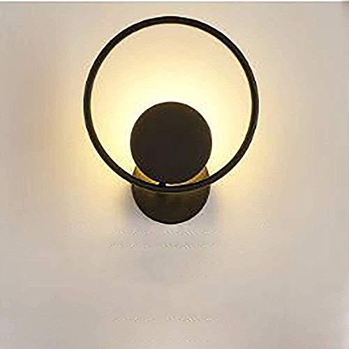 Creative wandlamp, leidde Ronde Wandlamp slaapkamer bedlampje Warm Light Art deco for Slaapkamer Woonkamer Creative Licht van de Muur