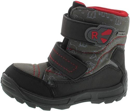 Richter Kinder Lauflerner-Stiefel Warm schwarz Sympatex Jungen Schuhe WMS 2033-242-9901 Black Freestyle, Farbe:schwarz, Größe:26 EU