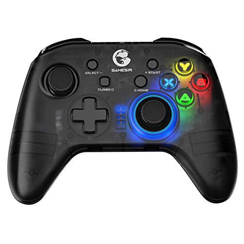 Controlador inalámbrico para Nintendo Switch, Switch Pro Controller Remote Joystick Gamepad con batería Recargable Compatible con Gyro Axis, Turbo y Dual Vibration