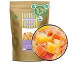 1 x 600g Mango & Papaya gehackt gewürfelt kandiert für Joghurt Quark Müsli sehr fettarm salzfrei vegetarisch vegan glutenfrei laktosefrei 100 % Premium