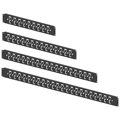Enoc Kabelabfangschiene KHD 8 X1-S Schranktiefe 800mm Kabelführung für Gehäuse/Schränke 7330701090318