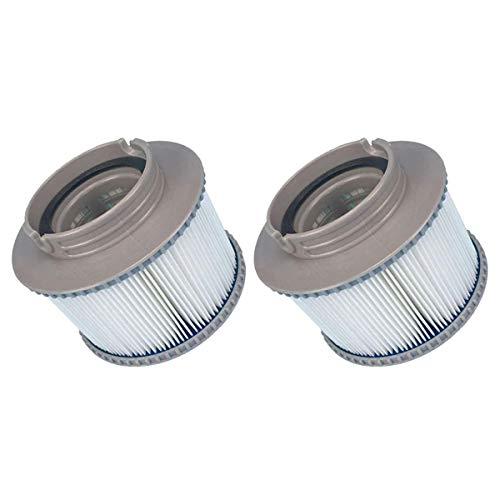 YanBan Whirlpool-Filter für MSPA FD2089, Filterkartuschenpumpe für MSPA alle gängigen Whirlpools, 2 Stück
