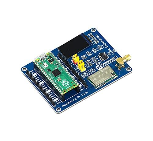 sb components Raspberry Pi Pico Board mit Raspberry Pi Pico LoRa Erweiterungsmodul, Raspberry Pi Pico Kit (Pico Board mit Pico LoRa (433 MHz))