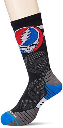 Stance Dead Head Crew Sock Chaussettes pour homme Noir Taille XL