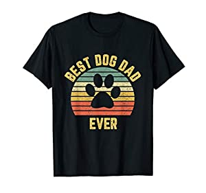 Great Dog Dad Shirt with unique colors and vintage distressed retro look. Perfect for any man or guy who loves his Dogs and takes great care of those hounds. Makes a great gift for any Dad, son, uncle, brother, cousin, grandpa, or friend who loves hi...