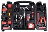 Steelbird Home Improvement Multipurpose Hand Tool Kit , Black -129 Pieces