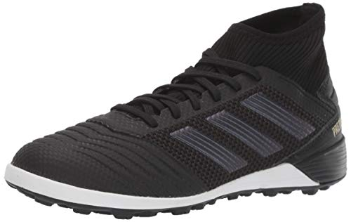 adidas Predator 19.3 Turf Soccer Shoe Black/Gold Metallic, 12.5 M US Mens