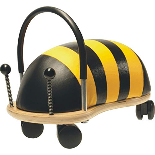 Wheelybug Toddler Ride On Animal, Safety Certified Developmental Toy (Small, Bee)