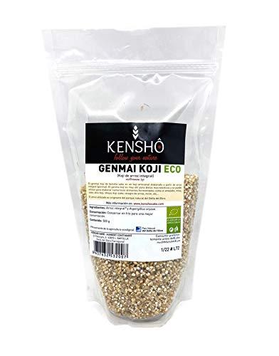 Kensho | Genmai Koji | Riso Koji artigianale marrone | Macrobiotico | Cibo giapponese speciale | Necessario per preparare Sakes and Sauces | 500 gr.