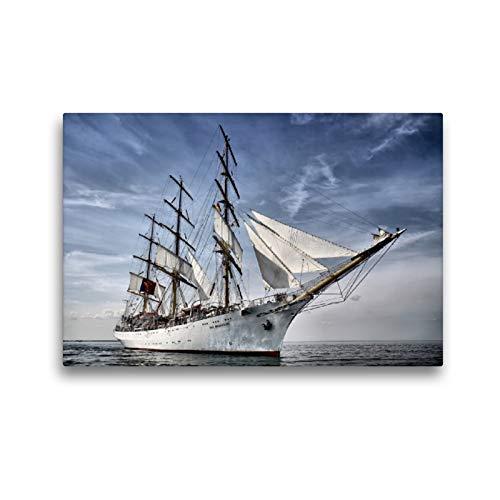CALVENDO Premium Textil-Leinwand 45 x 30 cm Quer-Format DAR Mlodziezy, Leinwanddruck von FotoDeHRO