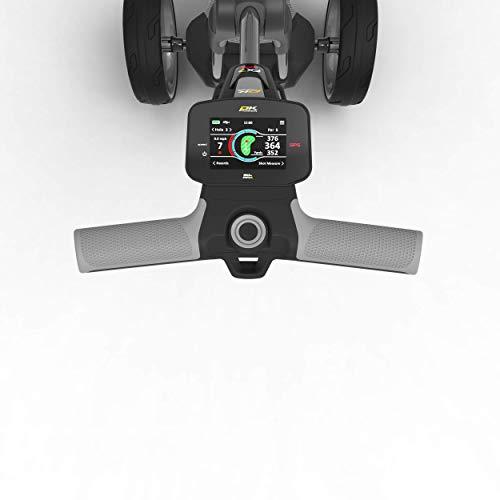PowaKaddy FX7 EBS GPS BT Gris Metalizado Batería 36 Hoyos Litio