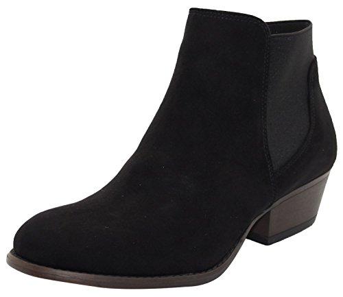 Emma Shoes ,  Damen Hohe Hausschuhe, schwarz - Auckland-Black - Größe: 37.5
