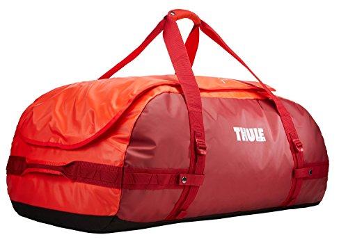 Thule Chasm 130L - Bolsa de Viaje, Color Rojo