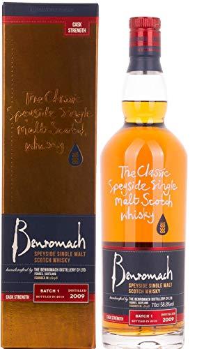Benromach VINTAGE CASK STRENGTH Single Malt Scotch Whisky 2009 (1 x 0.7 l)