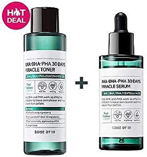 [somebymi] AHA. BHA. PHA 30 Days Miracle Toner 150ml + AHA. BHA. PHA 30 Days Miracle Serum 50ml/Korea Cosmetic [並行輸入品]
