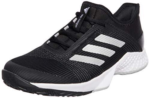 adidas Adizero Club, Scarpe da Tennis Uomo, Negbás/Plamet/Gridos, 43 1/3 EU