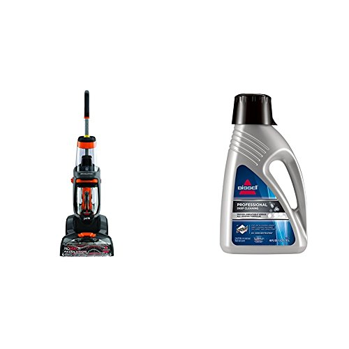 Bissell 1548 ProHeat 2X Revolution Pet Full-Size Carpet Cleaner and Bissell 78H6B Deep Clean Pro 2X Deep Cleaning Concentrated Formula, 48 ounces Bundle