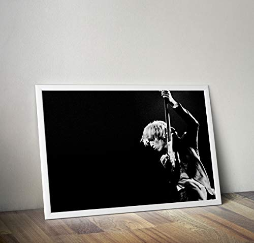 Tom Petty Wall Poster Tom Petty Poster Black and White Design Wall Decor Tom Petty Gift