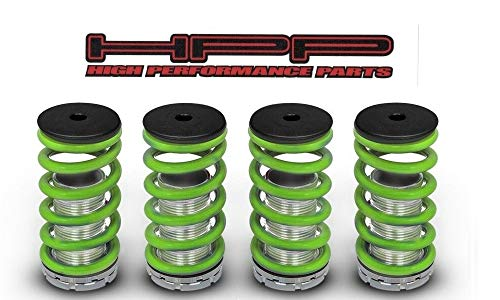 High Performance Parts Green Lowering Coilover Spring Kit For Acura 99-04 TL / 01-03 CL / 04-08 TSX