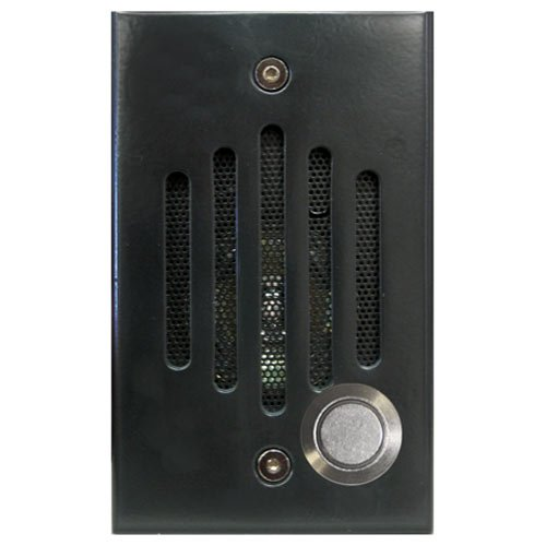 Channel Vision IU-0282C IU Series CAT5 Intercom Door Station, Black