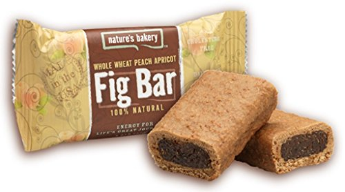 Nature's Bakery Whole Wheat Fig Bar, Peach Apricot, 2 Ounce (Pack of 12)