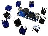 3DPlady 10 disipadores de calor Stepper + módulo Step Down para una refrigeración mejor y más silenciosa de impresoras 3D.