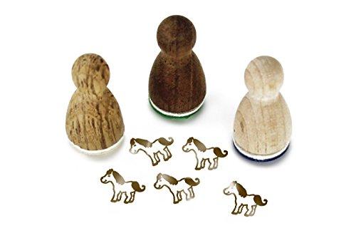 Stemplino Mini Stempel Finja Pferd
