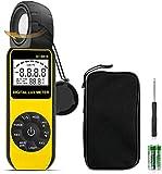 BTMETER Luxómetro Digital,Medidores LUX Digitales BT-881E,300,000 lux Luxómetro Termometro,Resolución 0.01 Medidor de Luz Temperatura,Luz LED,Plantas,Potografía de Acuarios